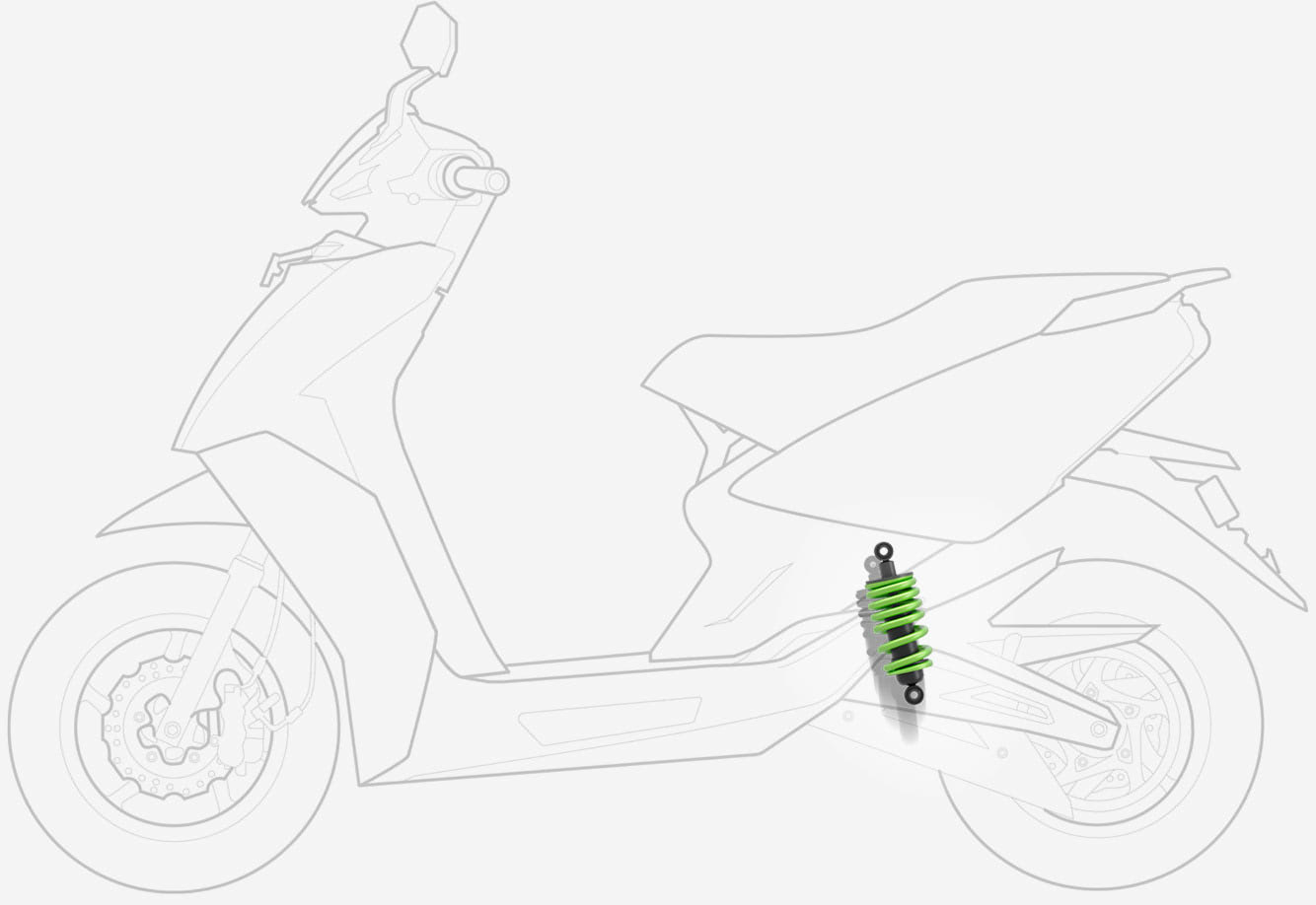 Electric Scooter suspension